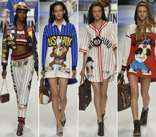 Mfw Moschino Fall Winter 2015 2016 Madly Fashionable